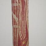 Holzstele 130x13x13cm